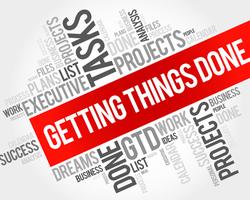 getting things done という言葉を知っていますか?