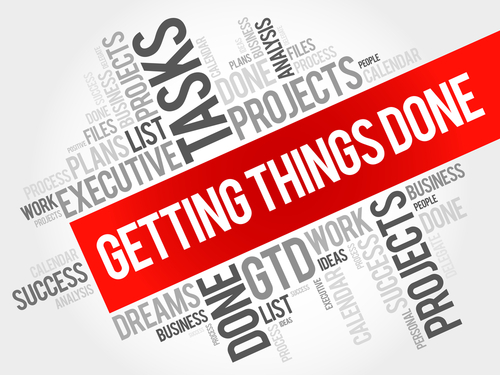 getting things done(GTD) という言葉を知っていますか?