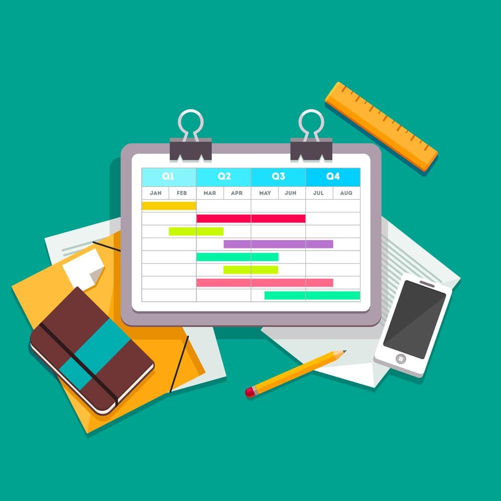 プロジェクト管理に必須なガントチャートには種類があるのをご存知でしたか?