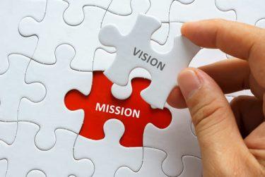 求心力のあるビジョンとミッションで結束力のあるチームをつくろう