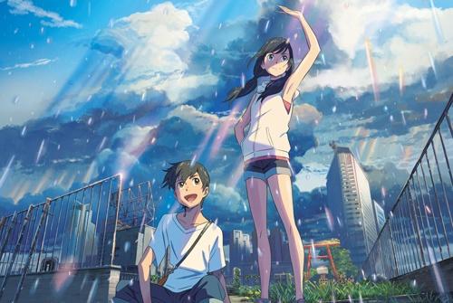 映画「天気の子」のイメージ画像