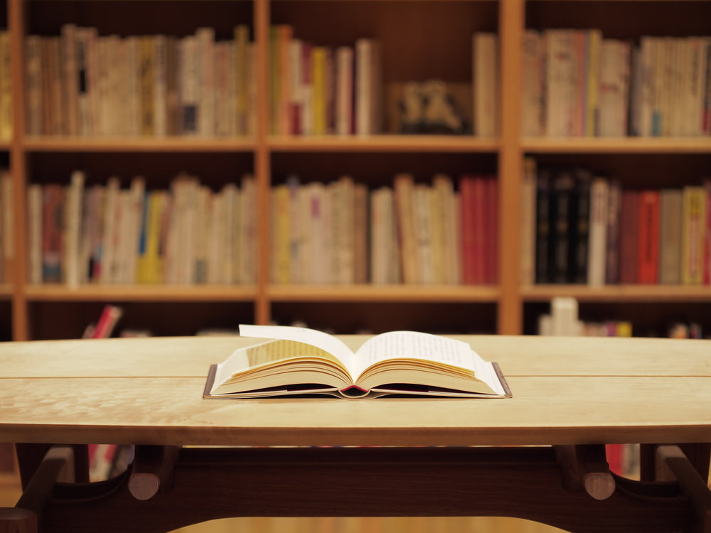 1冊の本。